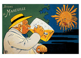 Biere De Maxeville Vintage Ad Plakater