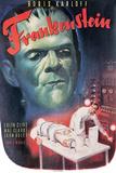 Frankenstein- Boris Karloff, Colin Clive, 1931 Affiches