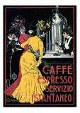 V. Ceccanti- Caffe Espresso Julisteet tekijänä V. Ceccanti