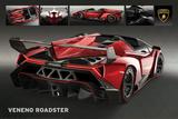 Lamborghini- Veneno Roadster Plakater