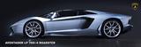 Lamborghini Aventador LP700-4 Roadster Plakater