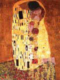 Gustav Klimt- The Kiss Poster von Gustav Klimt