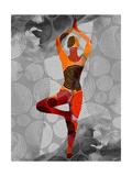 Yoga Pose I Kunst av Sisa Jasper