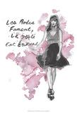 Fashion Quotes II Prints by Naomi McCavitt