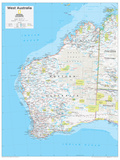 2014 West Australia - National Geographic Atlas of the World, 10th Edition Foto von  National Geographic Maps
