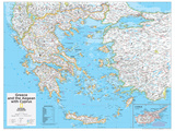 2014 Greece - National Geographic Atlas of the World, 10th Edition Fotografía por  National Geographic Maps