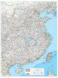 2014 China Coast - National Geographic Atlas of the World, 10th Edition Kunstdrucke von  National Geographic Maps
