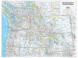 2014 Northwestern US - National Geographic Atlas of the World, 10th Edition Plakater av  National Geographic Maps