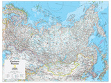 2014 Eastern Russia - National Geographic Atlas of the World, 10th Edition Poster van  National Geographic Maps