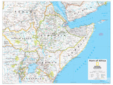 2014 Horn of Africa - National Geographic Atlas of the World, 10th Edition Pôsteres por  National Geographic Maps