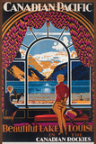 Canadian Pacific- Beautiful Lake Louise Plakater