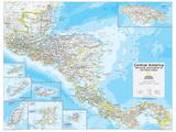 2014 Central America - National Geographic Atlas of the World, 10th Edition Poster von  National Geographic Maps