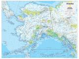 2014 Alaska - National Geographic Atlas of the World, 10th Edition 高画質プリント : 地図(ナショナル・ジオグラフィック)