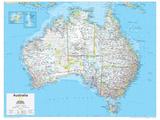 2014 Australia Political - National Geographic Atlas of the World, 10th Edition Kunstdrucke von  National Geographic Maps