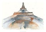 View of Eiffel I Affiches par Melissa Wang