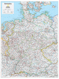 2014 Germany - National Geographic Atlas of the World, 10th Edition Poster por  National Geographic Maps