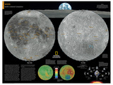 2014 Moon - National Geographic Atlas of the World, 10th Edition Posters af  National Geographic Maps