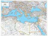 2014 Mediterranean Region - National Geographic Atlas of the World, 10th Edition Julisteet tekijänä  National Geographic Maps