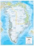2014 Greenland - National Geographic Atlas of the World, 10th Edition Kunstdrucke von  National Geographic Maps