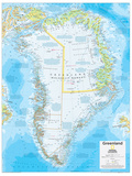 2014 Greenland - National Geographic Atlas of the World, 10th Edition Posters por  National Geographic Maps