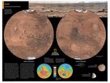 2014 Mars - National Geographic Atlas of the World, 10th Edition Kunstdrucke von  National Geographic Maps