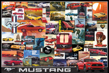 Ford: Mustang- Vintage Ads ポスター