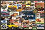 Jeep- Vintage Ads Plakater