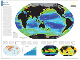 2014 Oceans - National Geographic Atlas of the World, 10th Edition Posters par  National Geographic Maps