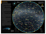 2014 Northern Sky - National Geographic Atlas of the World, 10th Edition Poster by  National Geographic Maps
