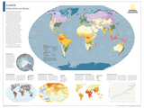 2014 Climate - National Geographic Atlas of the World, 10th Edition Posters par  National Geographic Maps