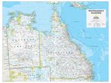 2014 Northeastern Australia - National Geographic Atlas of the World, 10th Edition Kunstdrucke von  National Geographic Maps