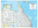2014 Northeastern Australia - National Geographic Atlas of the World, 10th Edition Posters por  National Geographic Maps
