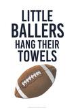 Little Ballers III Prints by  Studio W