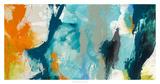Tidal Abstract II Giclee-trykk av Sisa Jasper
