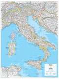 2014 Italy - National Geographic Atlas of the World, 10th Edition Poster von  National Geographic Maps
