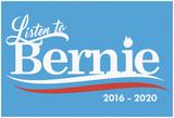 Listen To Bernie, 2016-2020 - Baby Blue Print