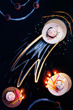 Birthday Comet Reproduction photographique par Dina Belenko