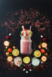 Milkshake Vignette Reproduction photographique par Dina Belenko
