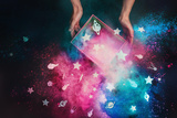A Box Full of Stars Reproduction photographique par Dina Belenko
