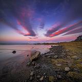 Sunset, Stokksnes, by Hofn and Hornafjordur, Iceland Fotografie-Druck von Ragnar Th Sigurdsson