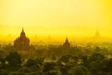 Bagan in Myanmar Reproduction photographique par  szefei
