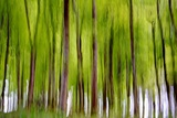 An Abstract Created by Intentional Camera Movement Photographic Print by John Lunt