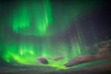 Aurora Borealis or Northern Lights, Abisko, Lapland, Sweden Fotografisk tryk af Ragnar Th Sigurdsson