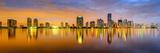 Miami, Florida, USA City Skyline Panorama Fotografisk trykk av Sean Pavone