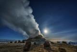 Geothermal Hot Springs, Hverarond, Namaskard, Iceland Impressão fotográfica por Ragnar Th Sigurdsson
