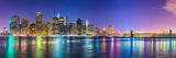 New York City Financial District Skyline across the East River Fotografisk trykk av Sean Pavone