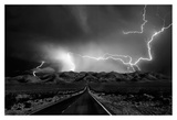 On the Road with the Thunder Gods Affiches par Yvette Depaepe