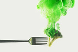 Disintegrated Broccoli Reproduction photographique par Dina Belenko