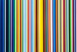 Multicolor Stripes Fotografisk tryk af Into The Red