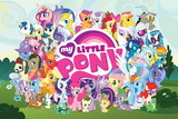 My Little Pony- World Of Characters Kunstdrucke